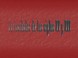 CURIOSIDADES DE LOS SIGLOS XV - XVI