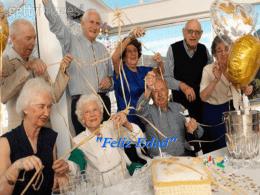 'Feliz Idade' - Club de Salud Platinum