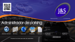 Diapositiva 1 - Bienvenidos a J&S Parking Inicio