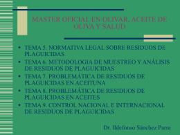 TITULO PROPIO EN OLIVICULTURA Y ELAIOTECNIA …