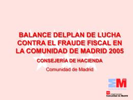 PLAN DE LUCHA CONTRA EL FRAUDE