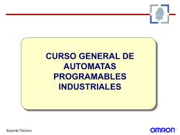 CURSO GENERAL DE AUTOMATAS PROGRAMABLES …