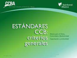 CCBS v2 General Criteria