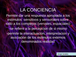 LA CONCIENCIA - Residentes Urgencias | Blog de los
