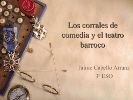 Los corrales de comedia y el teatro barroco