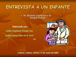 ENTREVISTA A UN INFANTE