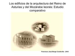 Los edificios de la arquitectura del Reino de Asturias y