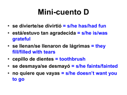 Mini-cuento D - Cobb Learning