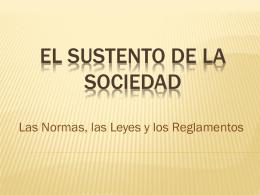 EL SUSTENTO DE LA SOCIEDAD - esptec55