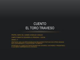 CUENTO EL TORO LOCO