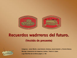RECUERDOS DEL FUTURO WADRRERO