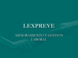 LEXPREVE