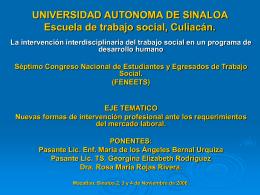 UNIVERSIDAD AUTONOMA DE SINALOA ESCUELA …