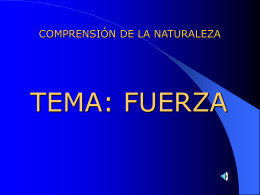 FUERZA - El blog de la profe | UN MUNDO DE …