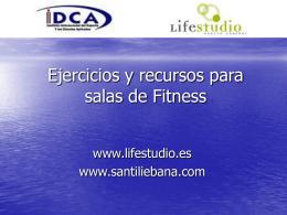 Entrenamiento de la fuerza en salas de fitness