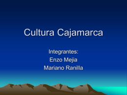 Cultura Cajamarca - pensamientoslibres