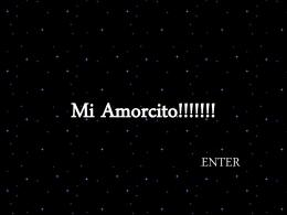 Mi Amorcito!!!!!!!