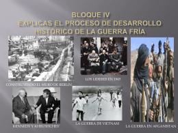 BLOQUE IV EXPLICAS EL PROCESO DE DESARROLLO …