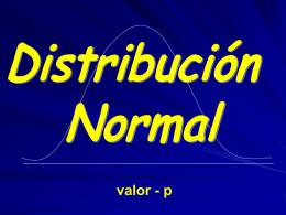 DISTRIBUCION NORMAL - reyhysindustrialuao2012