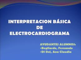 INTERPRETACION BASICA DE ELECTROCARDIOGRAMA
