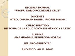 """ESCEULA NORMAL """"PROFR. DARIO RODRIGUEZ CRUZ"""" …"""