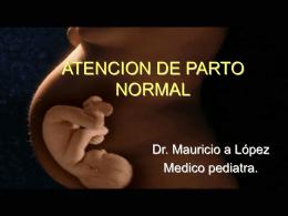 ATENCION DE PARTO NORMAL