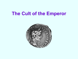 The Cult of the Emperor - The GCH Languages Blog