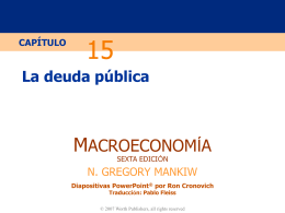 Mankiw 6e PowerPoints - Enciclopedia Y Biblioteca Virtual