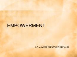 Empowerment - ..::FCA