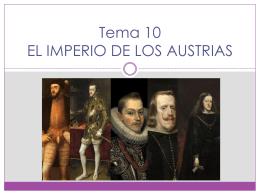 EL IMPERIO DE LOS AUSTRIAS