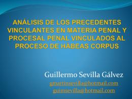 PRECEDENTES VINCULANTES EN MATERIA DE DERECHOS …