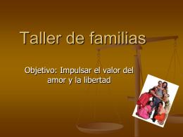 Taller de familias - Universidad La Salle Pachuca