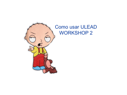 COMO USAR ULEAD WORKSHOP 2