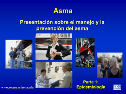 A Presentation on Asthma Management and Prevention