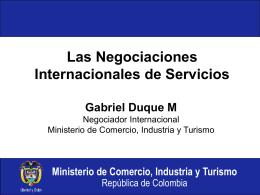 Futuro del comercio exterior, ATPDEA y Comunidad Andina