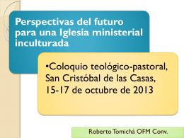 Perspectivas del futuro para una Iglesia ministerial