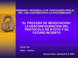 Desconfiguracion del Protocolo de Kyoto y su futuro …