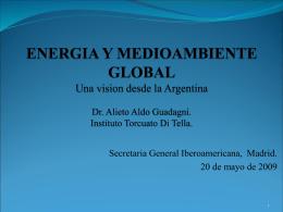 EL FUTURO DE LA ENERGIA UNA VISION DEL MUNDO Y …