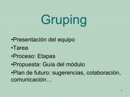 Gruping