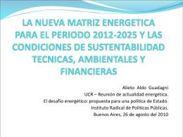 PRESENTE Y FUTURO DEL PETROLEO Y EL GAS EN …