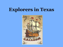 Explorers in Texas