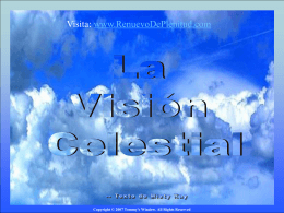 La vision Celestial