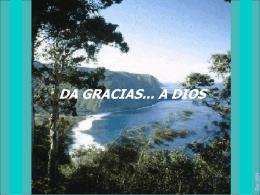 Da gracias a Dios - Devocionales Cristianos