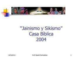 Jainismo y Sikismo