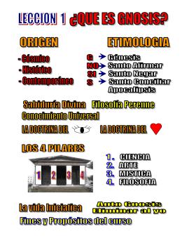 Diapositiva 1 - CENTRO DE ESTUDIOS GNOSTICOS
