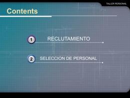 PowerPoint Template - ::: Taller de Personal