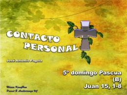 C ONTACTO PERSONAL - San Viator Pastoral
