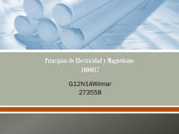 Principios de Electricidad y Magnetismo 1000017
