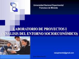 Diapositiva 1 - Blog Desarrollo Empresarial UNEFM Sabino