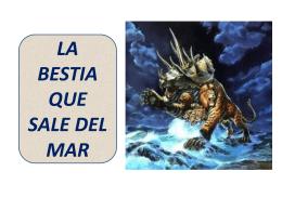 LA BESTIA QUE SALE DEL MAR